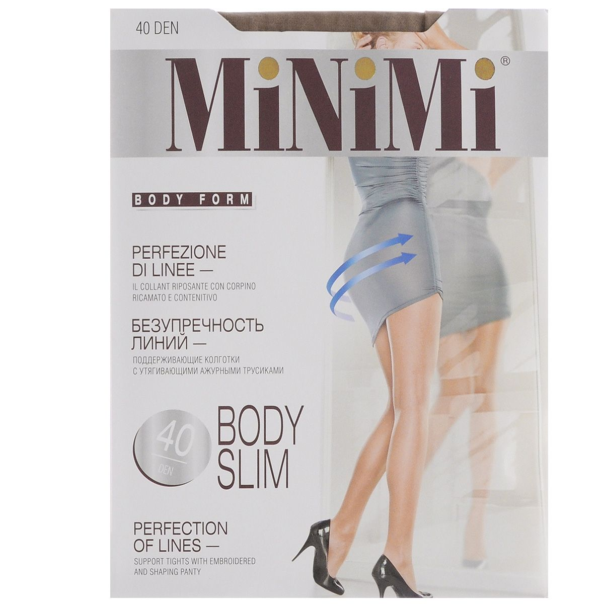 MINIMI Колготки BODY SLIM/40den/daino/2