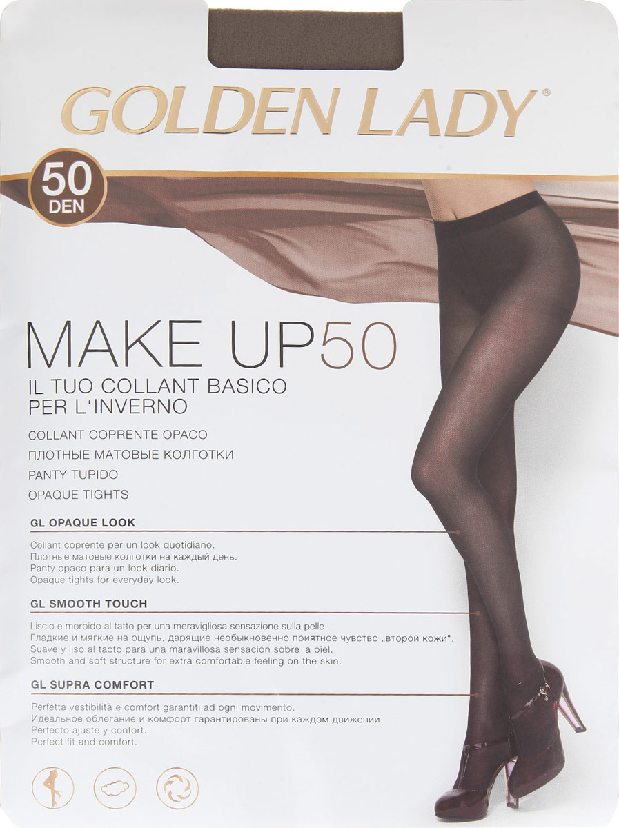 GOLDEN LADY Колготки MAKE UP/50den/daino/3