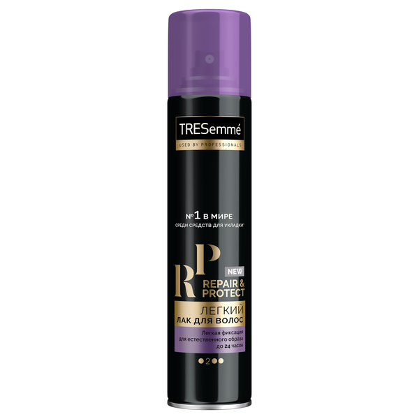 TRESEMME лак д/укл.вол.250мл Repair and Protect