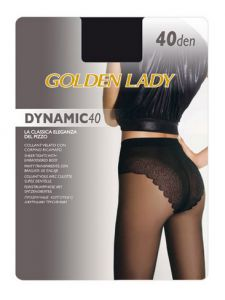 GOLDEN LADY Колготки DINAMIC/40den/nero/2