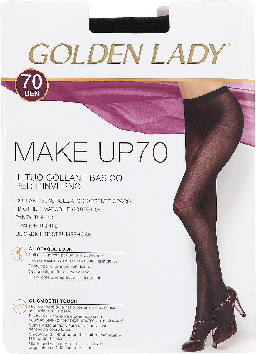 GOLDEN LADY Колготки MAKE UP/70den/nero/2